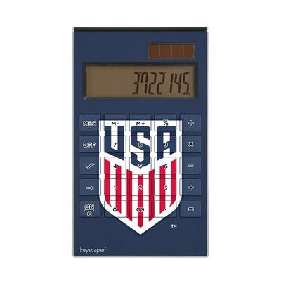 US Soccer Desktop Calculator - Navy Blue