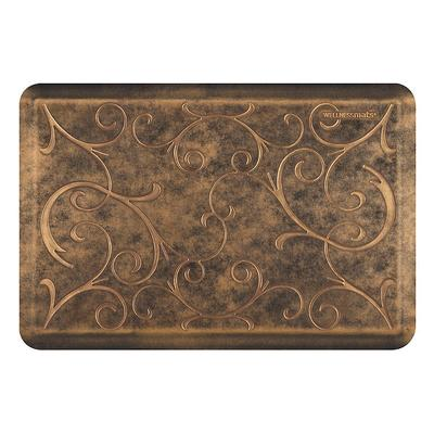 WellnessMats Estate Collection Bella Comfort Mat - Antique Dark, 3' x 2' Antique Dark - Frontgate