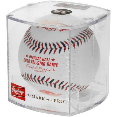 Rawlings 2018 MLB All-Star Game Logo Baseball with Case