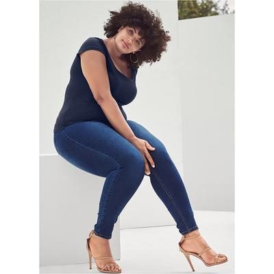 Color Skinny Jeans Jeans - Blue