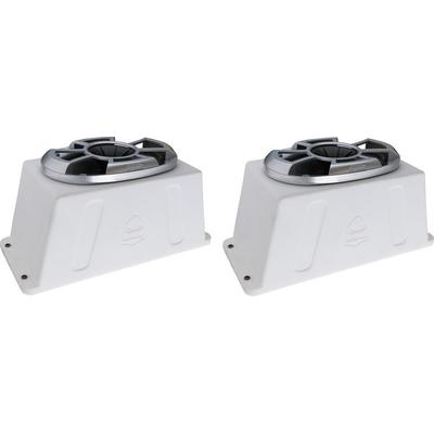 "Wet Sounds REV 6X9-SM-W Surface Mount Marine 6""x9"" Speakers"