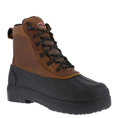 *With the most protection against the widest variety of threats, the Iron Age Compound boot keeps you well-equipped for every challenge *Waterproof full-grain leather upper and rubber bottom *Hydrotex® waterproof system *XTR® brand extra-wide composite...