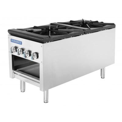 Turbo Air TASP-18-D 2 Burner Stock Pot Range, NG on Sale