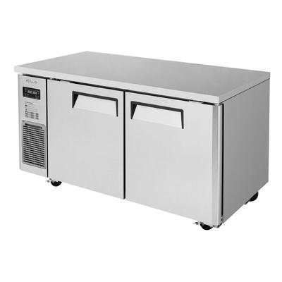 Turbo Air JURF-60-N 12.8 cu ft Undercounter Refrigerator/Freezer w/ (2) Section & (2) Door, 115v on Sale