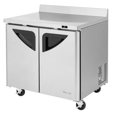 Turbo Air TWR-36SD-N6 36.25 Worktop Refrigerator w/ (2) Sections, 115v on Sale