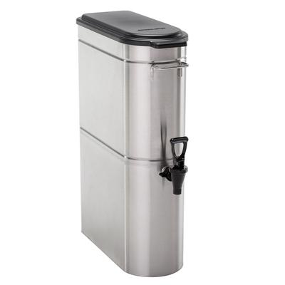 Cecilware GTD3-FOT 3 gal Narrow Iced Tea Dispenser w/ Handles, Stainless Steel on Sale