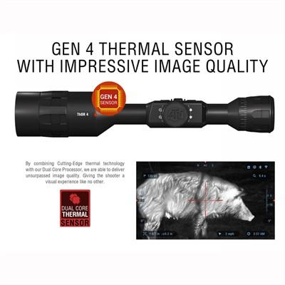 Atn Thor 4 4.5-18x 384x288 Thermal Scope - 4.5-18x Thor 4 384x288 Thermal Scope