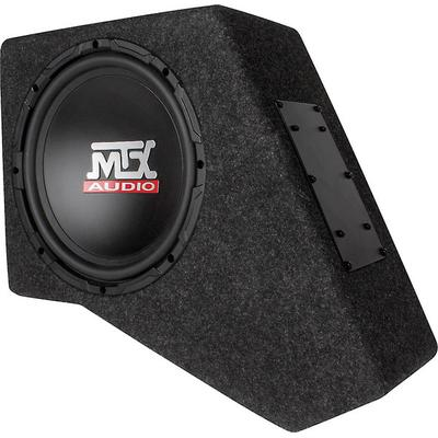 "MTX T-form 07-up Jeep Wrangler Black w/ 10"" Sub and Amp"