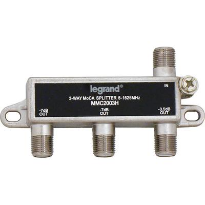 On-Q VM2203V1 3-Way MoCA Horizontal Splitter