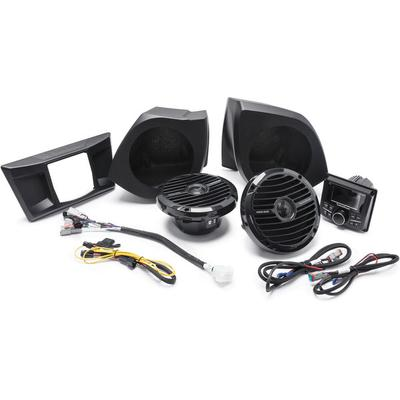 Rockford Fosgate YXZ-STAGE2 PMX-2, Dash Kit and Front Speakers