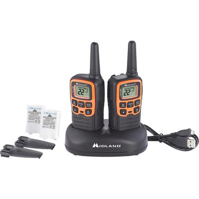 Midland T51VP3 X-Talker 2 GMRS Radios with Charging Dock
