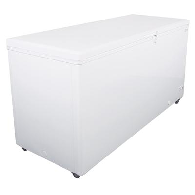 Kelvinator Commercial KCCF210WH 70.87 Mobile Chest Freezer w/ Wire Storage Basket - White, 115v on Sale