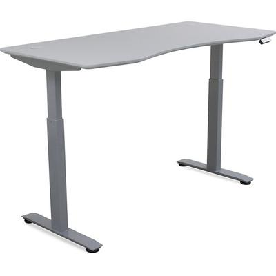 MotionWise SDD60G Motorized Lift Desk -Dove Gray