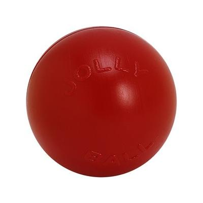 """""""Jolly Pets 10"""""""" Push-n-Play Ball Dog Toy, Red"""""""
