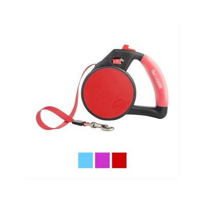 Wigzi Retractable Gel Leash, Red...