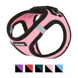Best Pet Supplies - Best Pet Supplies Voyager Black Trim Mesh Dog Harness, Pink, X-Small