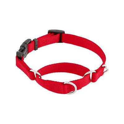 Frisco Solid Martingale Dog Collar with Buckle, Red, Small; **Remember to measure your pet for the paw-fect fit.** The Frisco Solid Martingale Dog Collar with Buckle is easy to put on and take off your pup with the convenient side-release buckle. It is...