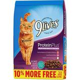 9 Lives Protein Plus with Chicken & Tuna Flavors Dry Cat Food, 13.2-lb bag