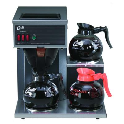 Curtis CAFE3DB10A000 Airpot Pour-Over Coffee Brewer w/ (2) Lower & (1) Upper Warmer, 1.9 L Capacity, Manual Fill, 120v on Sale