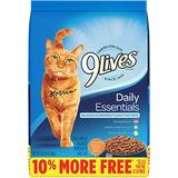9 Lives Daily Essentials with Chicken, Beef & Salmon Flavor Dry Cat Food, 13.2-lb bag