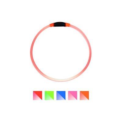 Nite Ize NiteHowl LED Safety Necklace Dog Collar, Orange