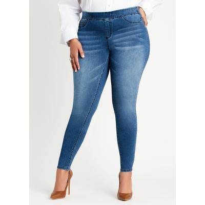 Plus Size Iconic Pull On Jegging