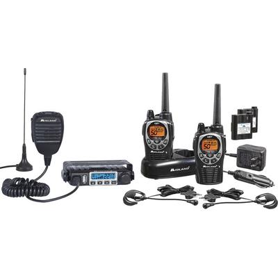 Midland ORMXT115VP Micromobile/Hand-held GMRS Radio Bundle