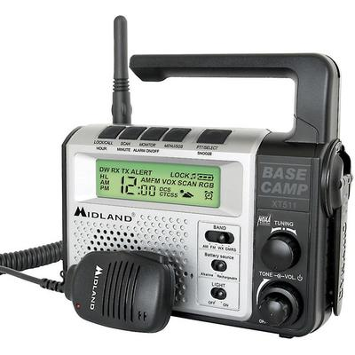 Midland XT511 Emergency Base Camp GMRS Radio
