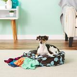 Molly Mutt Your Hand In Mine Round Dog Bed Duvet Cover, Petite