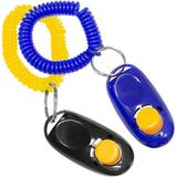 Downtown Pet Supply Training Dog Clickers, Color Varies, 2 pack