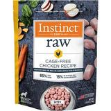 Instinct by Nature's Variety Frozen Raw Bites Grain-Free Cage-Free Chicken Recipe Dog Food, 3-lb bag