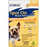 Zodiac Spot On Flea & Tick Control for Puppies & Toy Dogs 7-15 lbs, 4 treatments