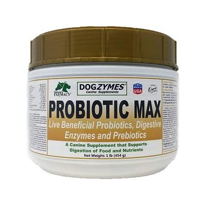Nature's Farmacy Dogzymes Probiotic Max Dog Supplement, 1-lb jar
