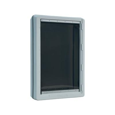 Ideal Pet Products Designer Series Ruff-Weather Pet Door, Tinted, Super Large