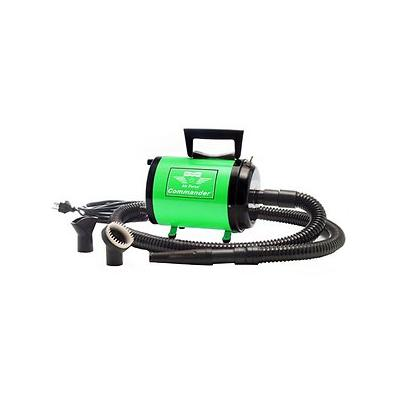 MetroVac Air Force Commander Two-Speed Pet Dryer, Green