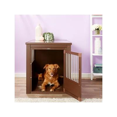 New Age Pet ecoFLEX Crate & End Table, Russet, X-Large