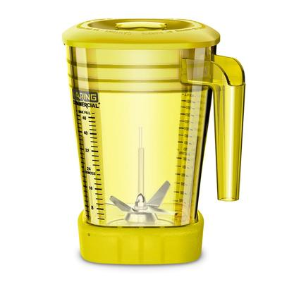 Waring CAC93X-03 48 oz The Raptor Blender Container for MX Series Blenders - Copolyester, Yellow on Sale