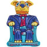 Fat Cat Lincoln Wagmorial Squeaky Dog Toy