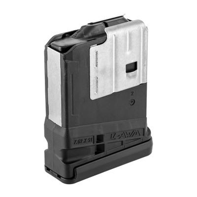 Lancer Systems Ar 308 L7awm Black 10-Rd Magazines - L7awm 10rd Opaque Black
