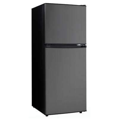 Danby DCR047A1BBSL 6.2 cu ft Compact Refrigerator & Freezer w/ Solid Doors - Black/Stainless, 115v on Sale