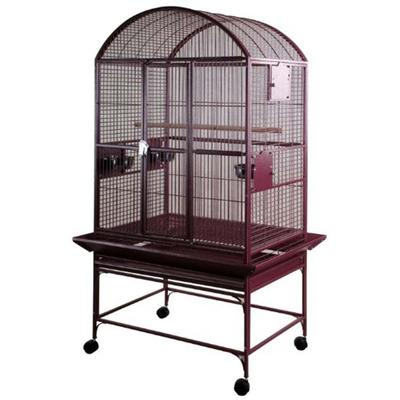 A&E Cage Large Dome Top Bird Cage provides your pet with a comfortable and roomy living space. This owner friendly dome top series by A&E, features a large, bird proof front door for easy access with feeder door locks. Combining a removable seed catc
