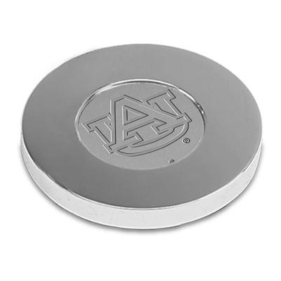 Auburn Tigers Paperweight - Silver