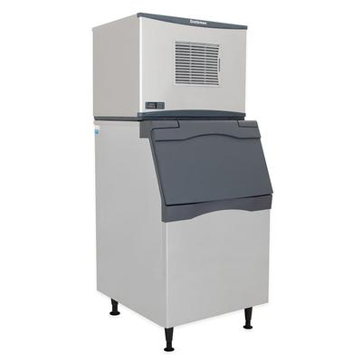 Scotsman C0330SW-1/B330P 420 lb Half Cube Ice Maker w/ Bin - 344 lb Storage, Water Cooled, 115v