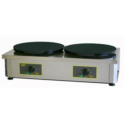 Equipex 400ED 15.75 Double Crepe Maker w/ Cast Iron Plates, 240v/1ph on Sale