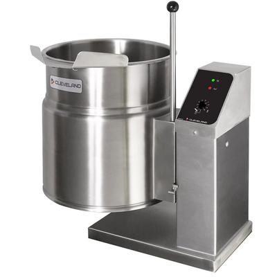 Cleveland KET3T 3-gal. Steam Kettle - Manual Tilt, 2/3 Jacket, 208v/1ph on Sale