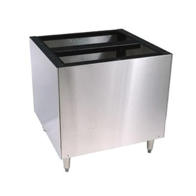 Scotsman IOBDMS22 Ice Dispenser Stand for ID150 Models - 22W x 30D x 30H, Stainless Steel on Sale
