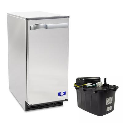 Manitowoc SM-50A Undercounter Ice Maker - Top Hat, 53 lb, Gravity Drain on Sale
