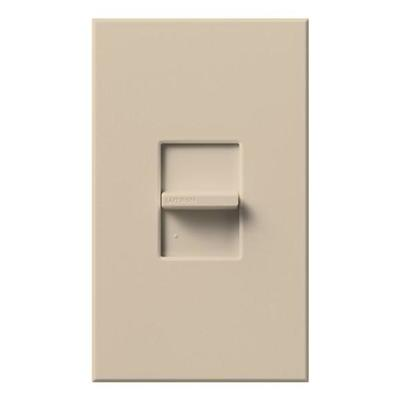 Lutron 46885 - 120 volt Taupe 300 watt Single-Pole Electronic Low Voltage Wall Dimmer Switch
