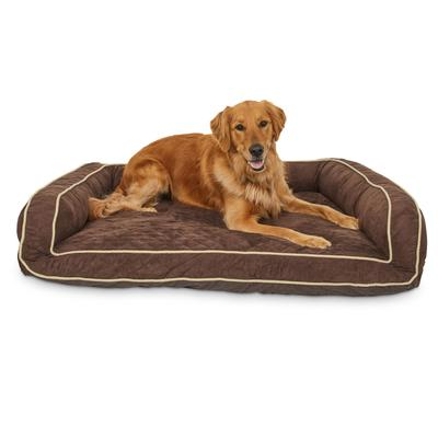 Petcomemory Foam Brown Couch Dog Bed 48 L X 36 W X Large Dailymail