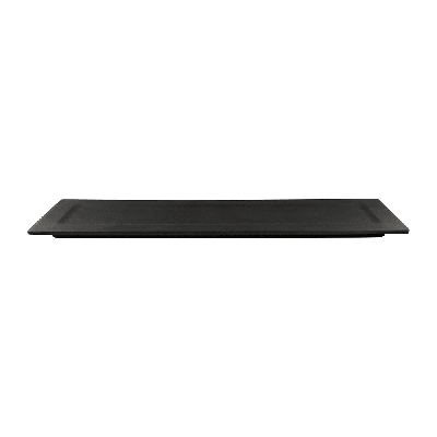 Elite Global Solutions ECO516 Rectangular Greenovations Platter - 16 x 5.25, Melamine/Bamboo, Black on Sale